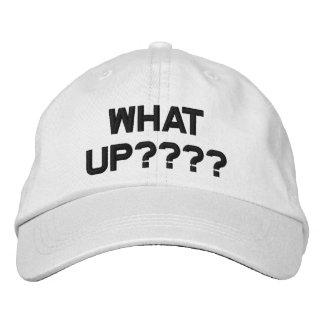 Quel logo haut, casquette de baseball réglable