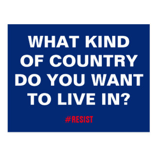 Quel un peu pays voulez-vous pour vivre dedans ? cartes postales