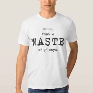 quelle perte t-shirt