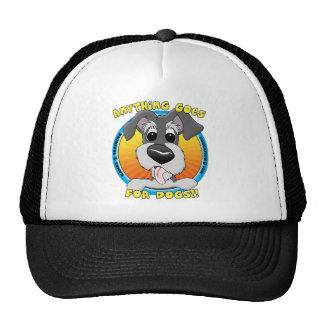 Quelque chose va pour le chapeau de chiens casquettes de camionneur