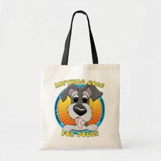 Quelque chose va pour le sac fourre-tout à chiens