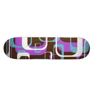 Quelque formes carrées géométriques fraîches modèl skateboard old school 18,1 cm