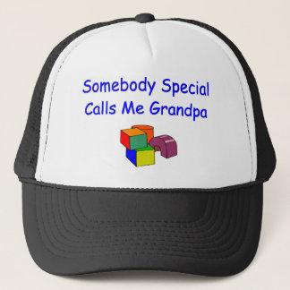 Quelqu'un appels spéciaux je casquette de