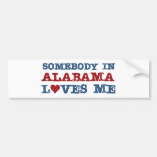 Quelqu'un en Alabama m'aime Autocollant Pour Voiture