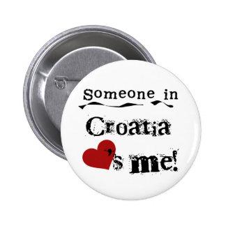 Quelqu'un en Croatie m'aime Badges