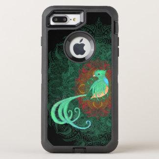 Quetzal bouclé coque otterbox defender pour iPhone 7 plus