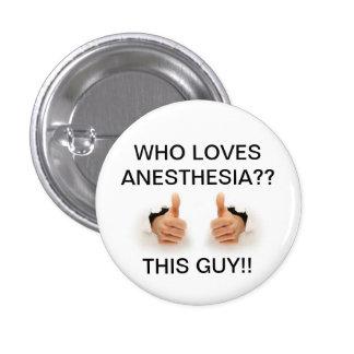 Qui aime l'anesthésie badge