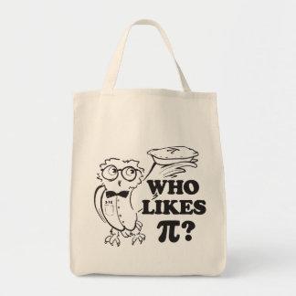Qui aime pi ?  sac fourre-tout
