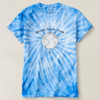 Qui courent le T-shirt du monde