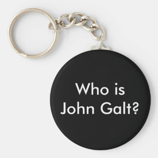 Qui est John Galt ? porte - clé Porte-clé Rond