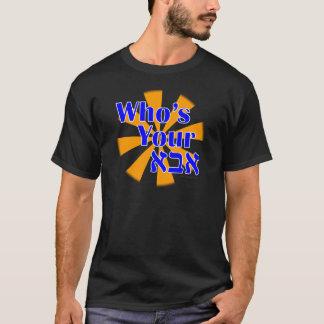 Qui est votre Abba/papa T-shirt