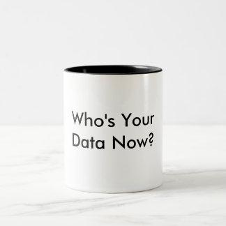 Qui est votre tasse de café de données