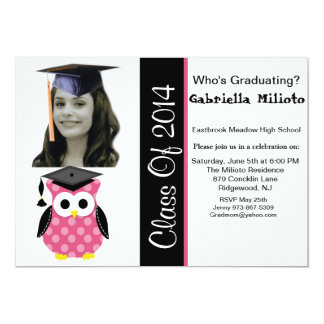 Qui reçoit un diplôme ? Photo avec l'invitation