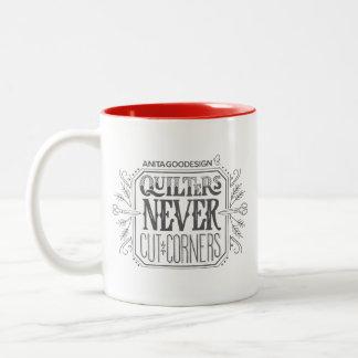 Quilters n'a jamais coupé la tasse de coins