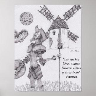 Quixote de La Mancha Poster