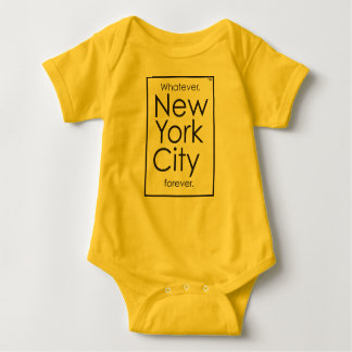 Quoi que, New York City pour toujours Body