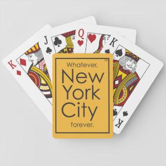 Quoi que, New York City pour toujours Jeu De Cartes