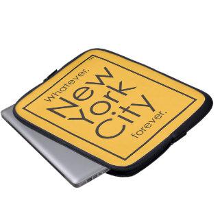 Quoi que, New York City pour toujours Protection Pour Ordinateur Portable