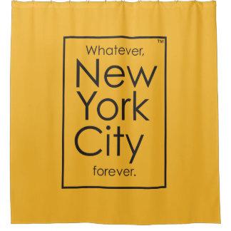Quoi que, New York City pour toujours Rideaux De Douche