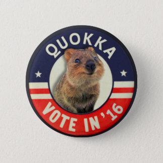 Quokka pour le président en 2016 badge