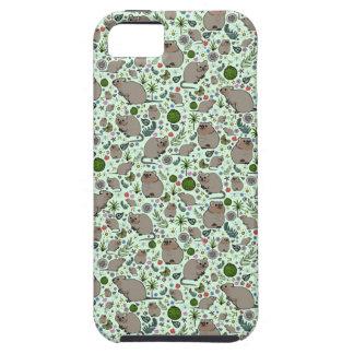 Quokkas en vert coques iPhone 5 Case-Mate