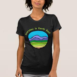 Quotidien est le jour de la terre 2 t-shirt