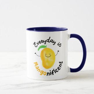 Quotidienne est la tasse de nificent- de mangue