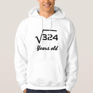 Racine carrée de 324 18 années veste à capuche