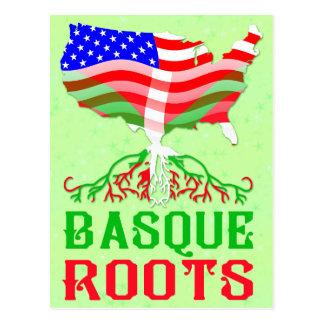 Racines américaines Basques Carte Postale