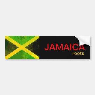 Racines de la Jamaïque Autocollant Pour Voiture