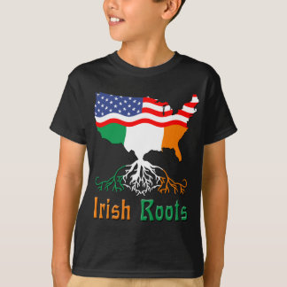 Racines irlandaises américaines t-shirt