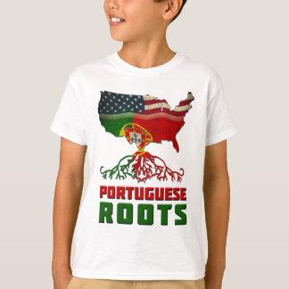 Racines portugaises américaines t-shirt