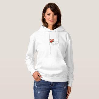 Rad avec le sweatshirt de conception de roses