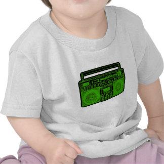radio de sableuse de ghetto de boombox t-shirt