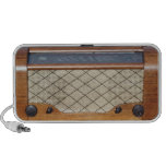 Radio vintage 1 haut-parleurs mp3
