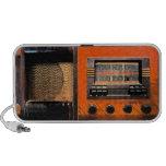 Radio vintage haut-parleurs mp3
