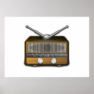 Radio vintage posters