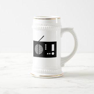 Radio vintage mug à café