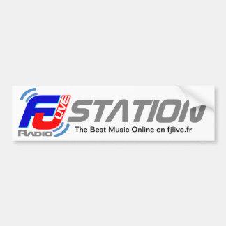 Radio vivante d'Autocollant FJ Autocollant De Voiture