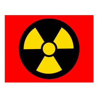 Radioactif Carte Postale