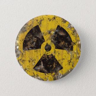 Radioactif rouillé badge