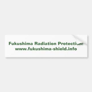 Radioprotection de Fukushima ! bumpersticker Autocollant De Voiture