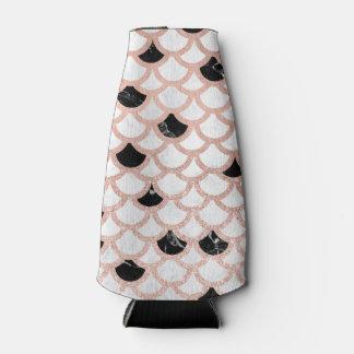Rafraichisseur De Bouteilles Feston de marbre blanc de noir rose moderne d'or
