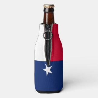 Rafraichisseur De Bouteilles Graphique dynamique de drapeau d'état du Texas sur