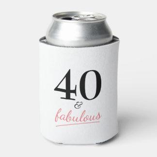 Rafraichisseur De Cannettes 40 et quarantième cadeau d'anniversaire fabuleux