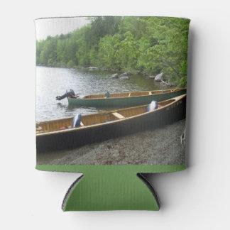 Rafraichisseur De Cannettes Canoë sur le lac grand est au Maine