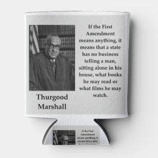Rafraichisseur De Cannettes Citation de Thurgood Marshall