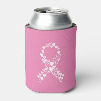 Rafraichisseur De Cannettes Coeurs pour la boîte de ruban de Cancer