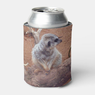 Rafraichisseur De Cannettes Cutest_Little_Meerkat, _Stubby_Cooler_Holder.