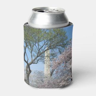 Rafraichisseur De Cannettes Fleurs de cerisier et le monument de Washington